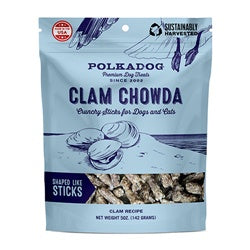 Clam Chowda Premium Dog Treats