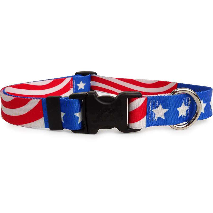 Patriotic Americana Dog Collar