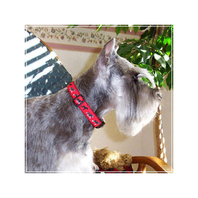 Miniature Schnauzer Dog Collar or Leash