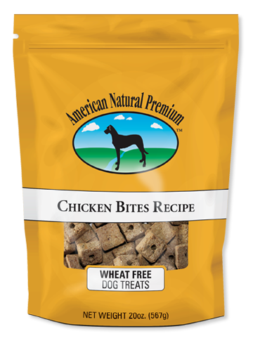 ANP Chicken Bites- crunchy wheat-free treats for dogs