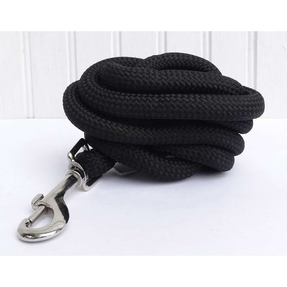6 Ft.  Black Soft Touch Dog Leash
