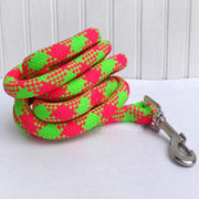 Soft Touch Rope Dog Leash- 17 color options
