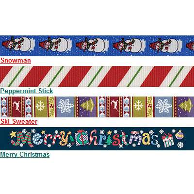 Seasonal Dog Collar Collection - Set of 9 collars