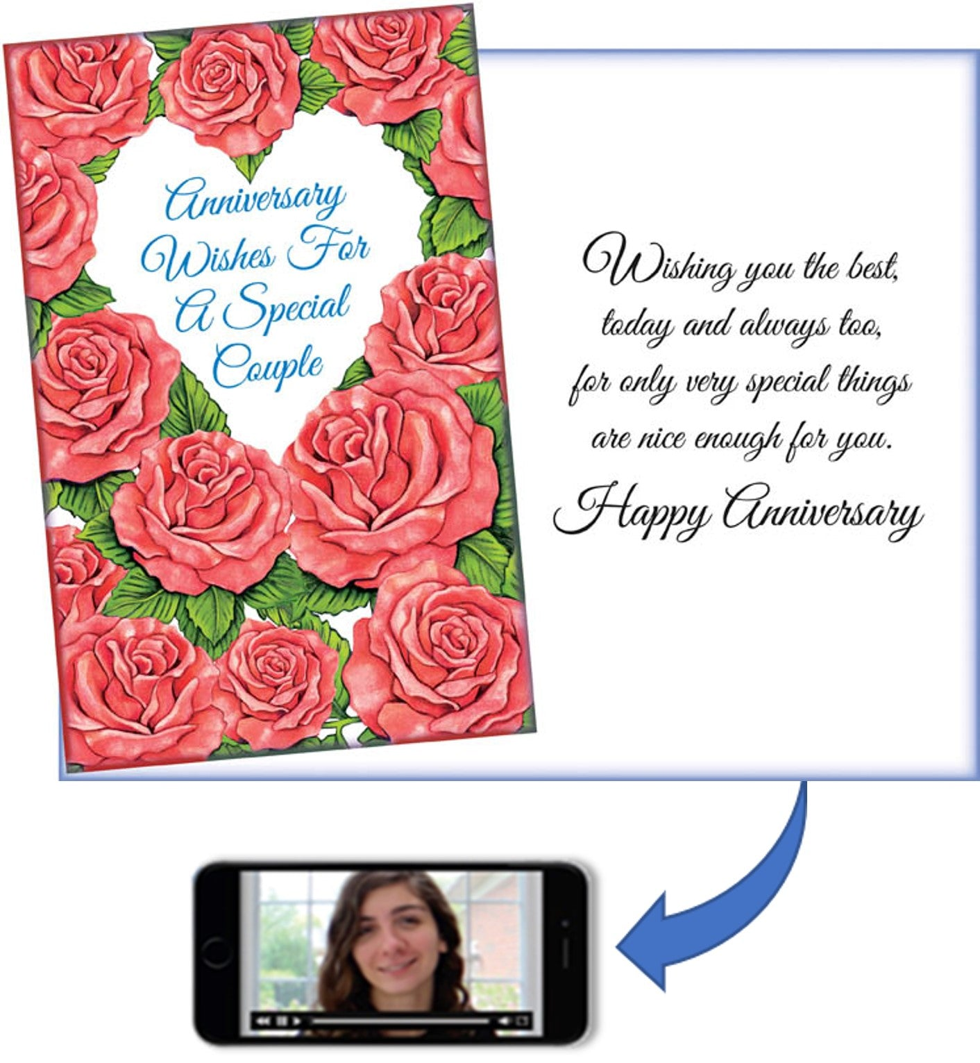 greeting card anniversary card for couple cardfully