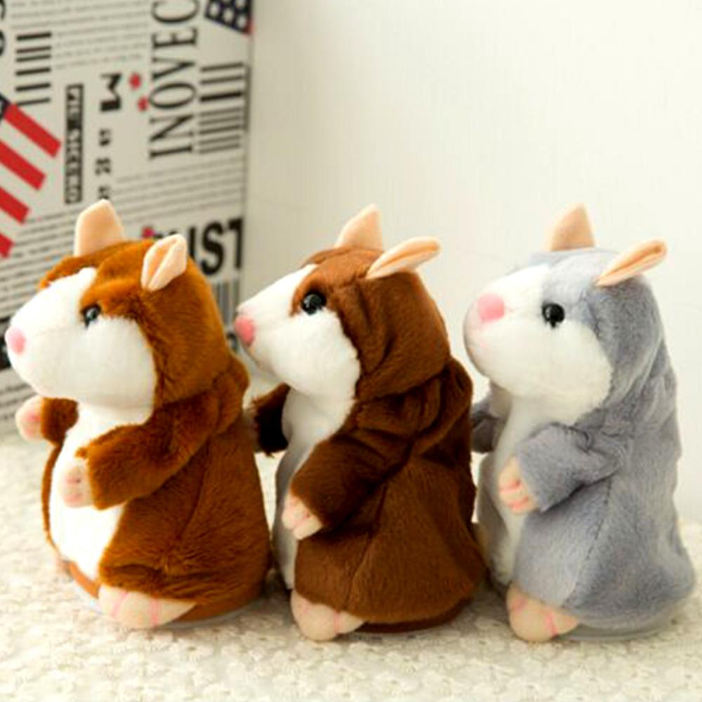 Kids Toys - The Talking Baby Hamster Plush Toy