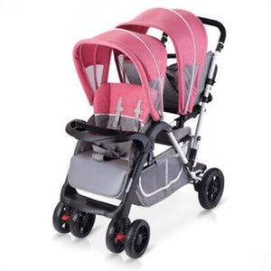 Twin Tandem Double Baby Stroller