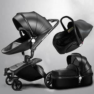 Ergonomic 360 Rotating Baby Stroller 3 In 1