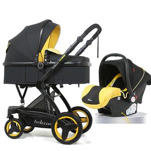 Cinderella Luxury Mom 3 In 1 Baby Stroller