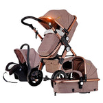 Vista View 3 in 1 Baby Stroller