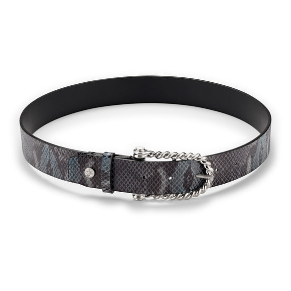 Midnight Python Twisted Bit Belt