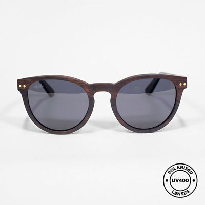 COCO - Handmade Wooden Sunglasses. Polarised UV400 lenses