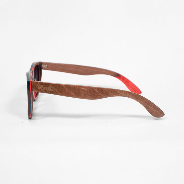 CRUZ- Handmade Wooden Sunglasses. Polarised UV400 lenses