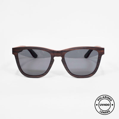 JEBB - Handmade Wooden Sunglasses. Polarised UV400 lenses