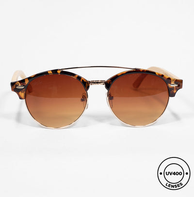 SAN FRAN - Handmade Wooden Sunglasses. UV 400 Protection lenses
