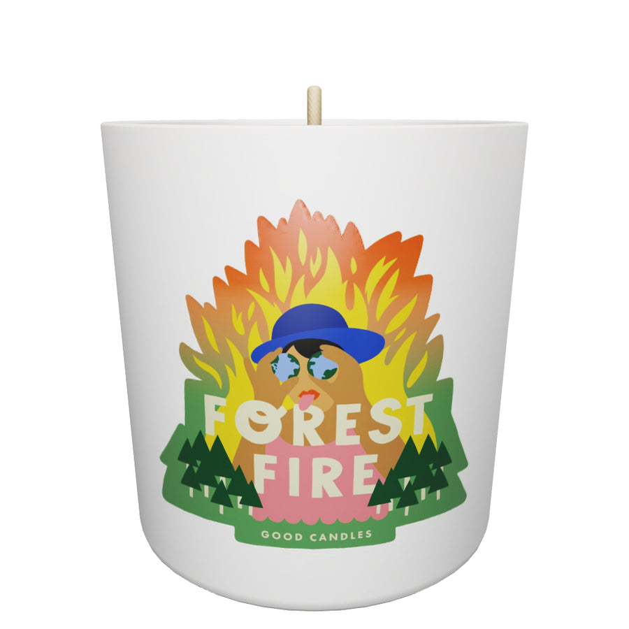 Forest Fire Soy Wax Scented Candle