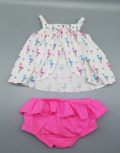 CC Flamingo 2pc. - 6/9M