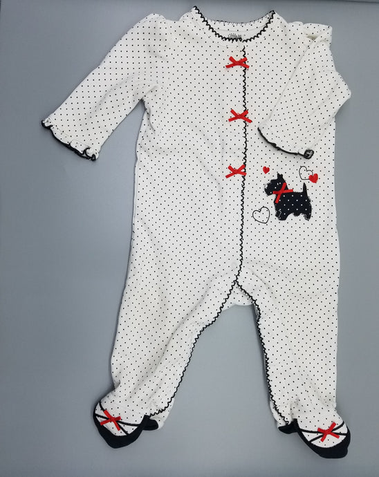 CC Scottie Puppy Sleeper - 3M