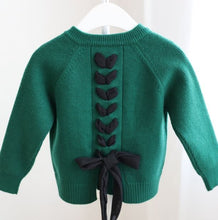Load image into Gallery viewer, Little Ribbon Lace up Cardigan