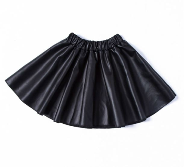 Nadia Faux Leather Skirt