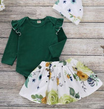 Load image into Gallery viewer, Ivy Floral Baby Set