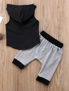 Summer Nights Hooded Short set
