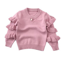 Load image into Gallery viewer, Pearl Ruffle Sweater