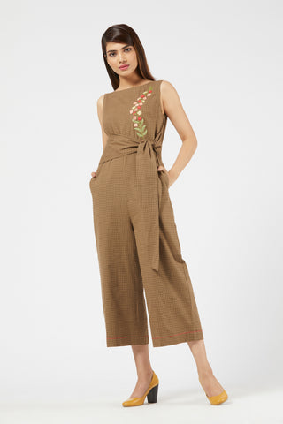 Jumpsuit - Olive Green