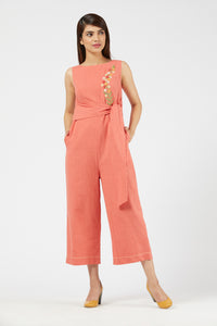 Jumpsuit - Peach