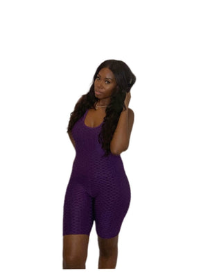 Purple Cosmo Jumpsuit
