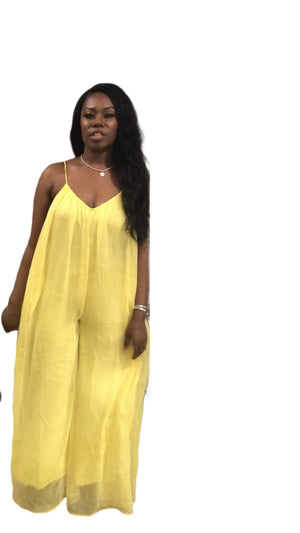 Sunshine Wide Legged Jumpsuit