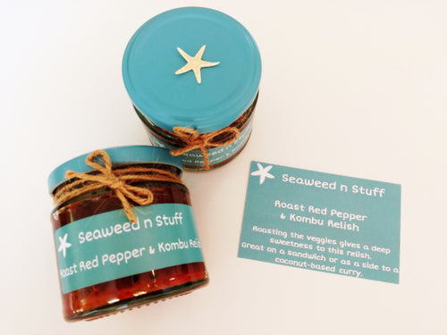 Roast Red Pepper n Kombu Seaweed Relish