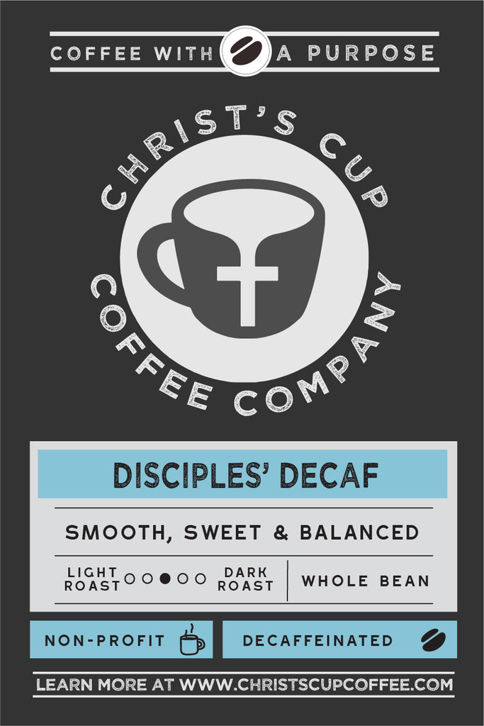 Disciples' Decaf Coffee 5lb Bag