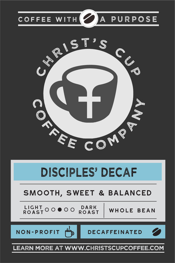Disciples' Decaf Coffee 12 oz