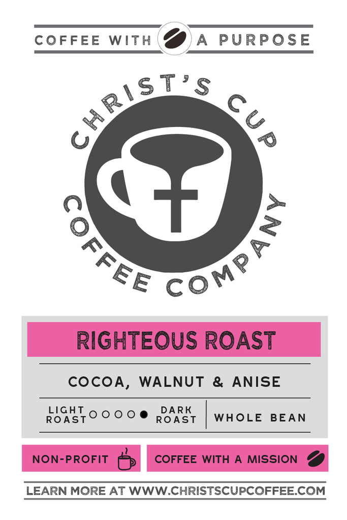 Righteous Roast Coffee 5lb Bag