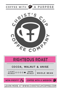 Righteous Roast Coffee 12 oz