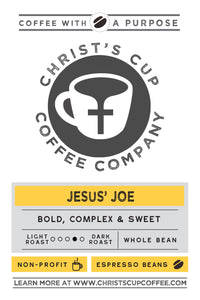 Jesus' Joe Coffee 12 oz