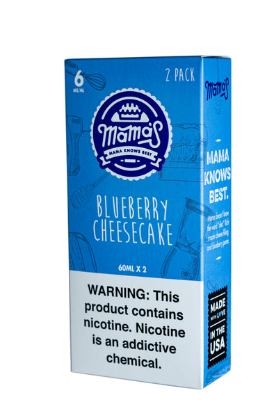 Blueberry Cheesecake 120ml (2 Pack 60ml)
