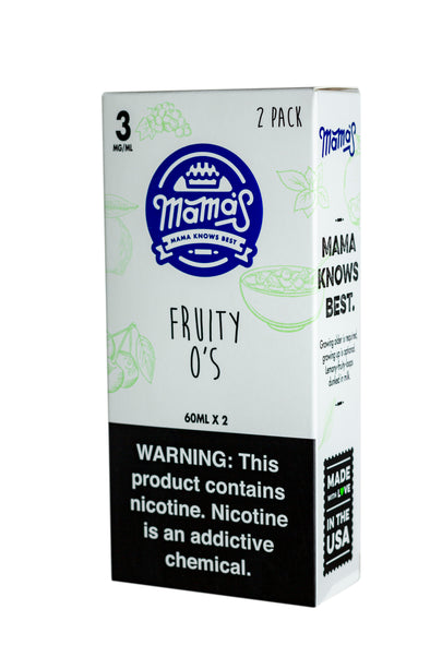 Fruity O's 120ml (2 Pack 60ml)