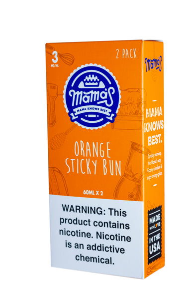 Orange Sticky Bun 120ml (2 Pack 60ml)