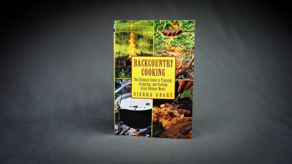 BackCountry Cooking Book  (FREE SHIPPING)