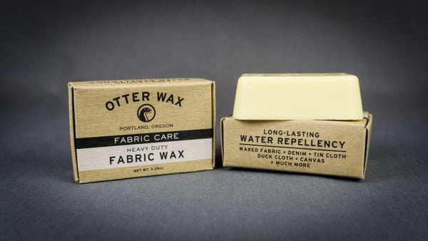 2 pack Otter Wax Heavy Duty Fabric Wax