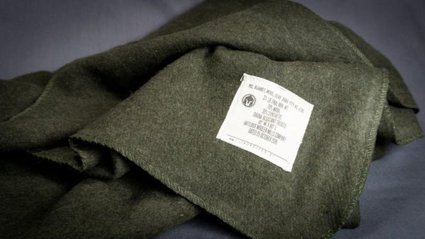 BattlBox 70% Wool Military Blanket