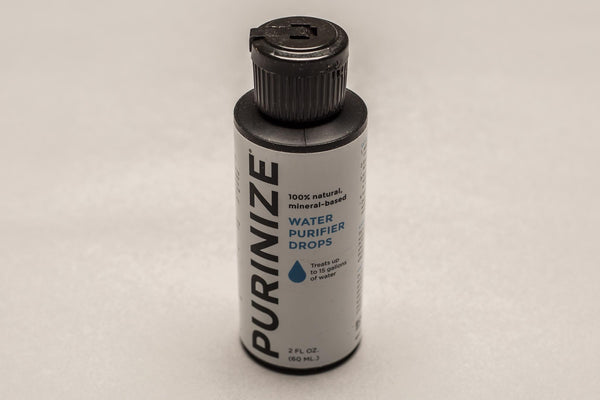 2 pack of Purinize water purifier drops 2 oz.
