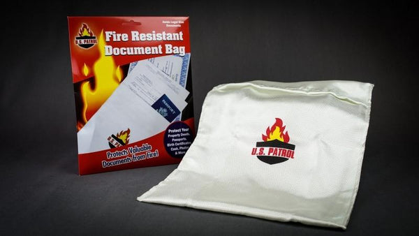 U.S. Patrol Fire Resistant Document Bag