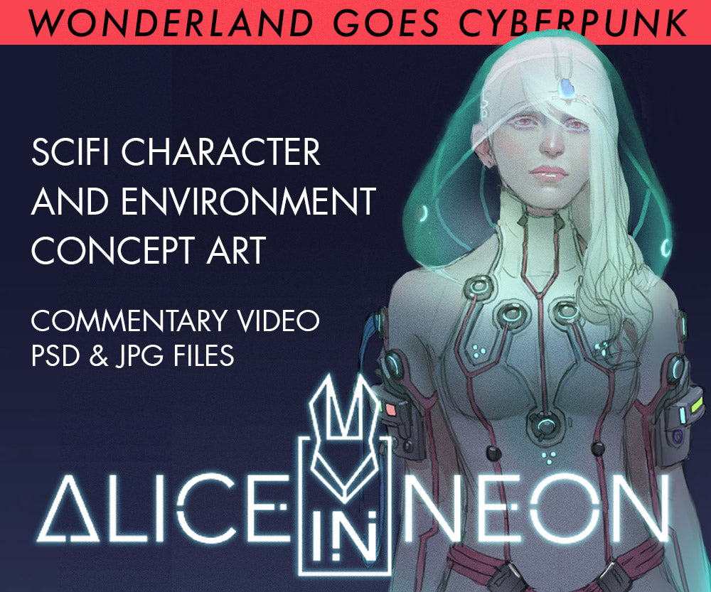 CYBERPUNK: Alice in Neon