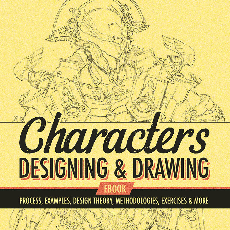 Characters - Designing & Drawing eBook