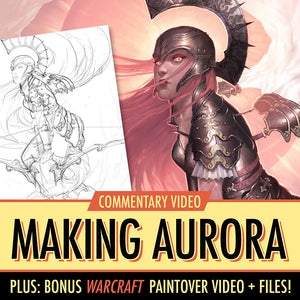 Making of Aurora video