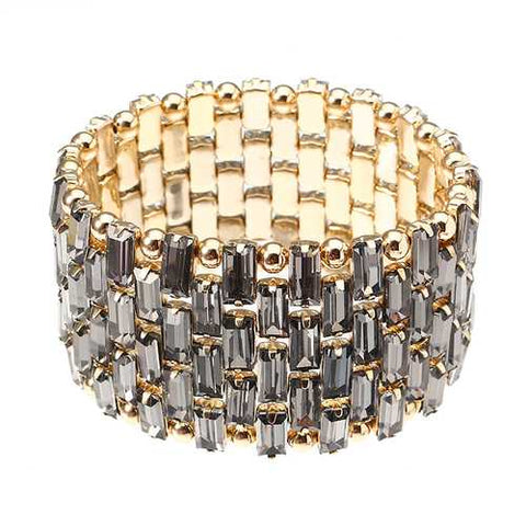 JASSY Luxury Gold Plated Bead Bracelet Trendy Bracelet