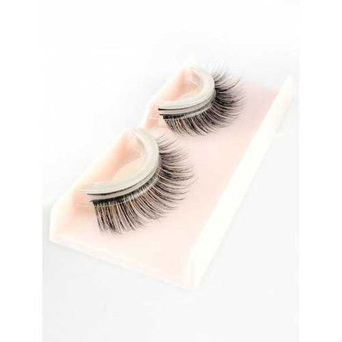 Pair of Volumizing Fluffy Fits All Eyes Handmade False Eyelashes - #001