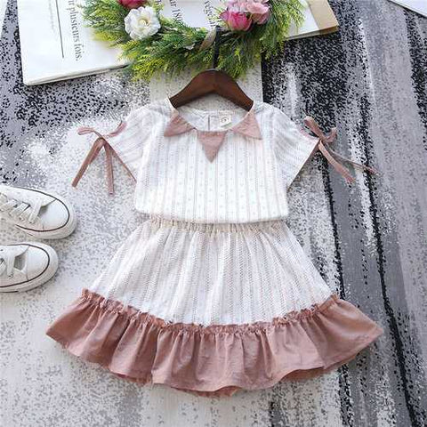 Ruffles Toddlers Girls Clothing Set
